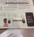 The Comic In My School Newspaper...
