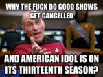 Why The Fuck Do Good Shows Get Cancelled...