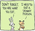 Don't Forget. You Are What You Eat. I Need To..