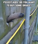Pssst Kids, Do You Want To Buy Some Drugs?