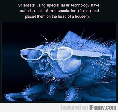 Scientists Using Special Laser...