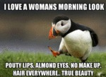 I Love A Woman's Morning Look...