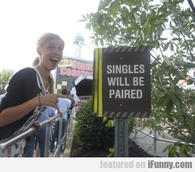 singles will be paired...