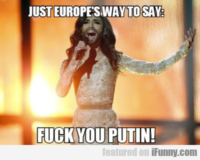 Just Europe's Way To Say...