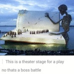 This Is A Theater Stage For A Play...
