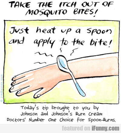 Take The Itch Out Of Mosquito Bites
