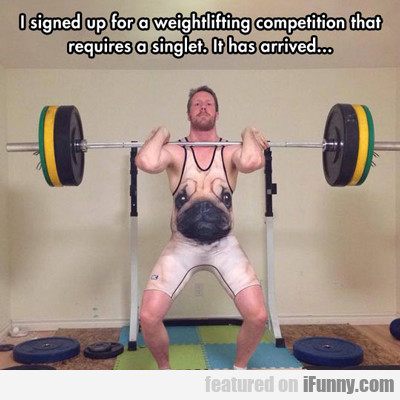 I Signed Up For A Weightlifting Competition...