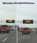 Highway Sign On 93 South...