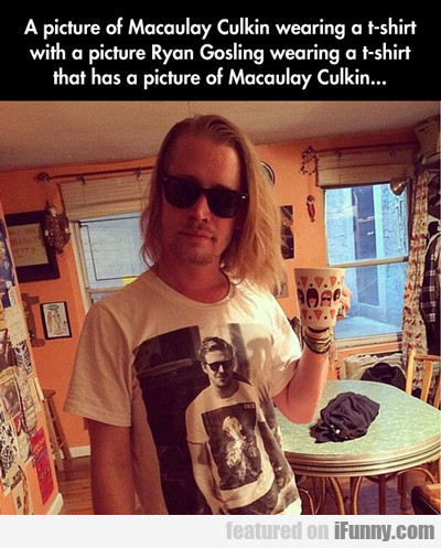 A Picture Of Macaulay Culkin...