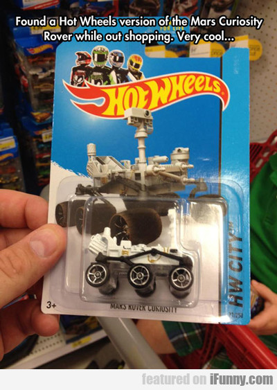 Found A Hot Wheels Version Of The Mars...