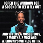 I Open The Window For A Second To Let A Fly...