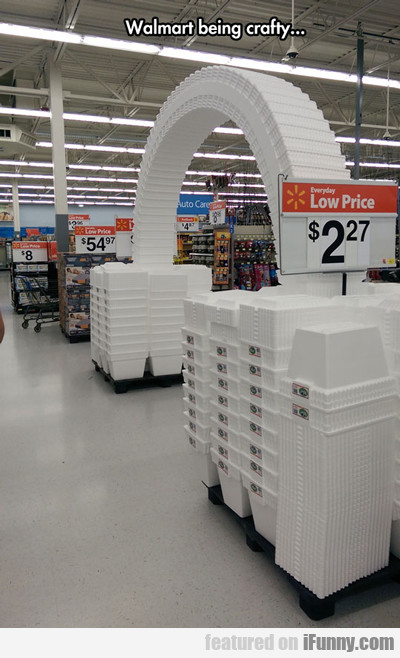 Wal-mart Being Crafty...