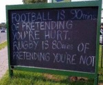 Football Is 90 Mins Of Pretending...