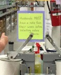 Sign In The Paint Store...