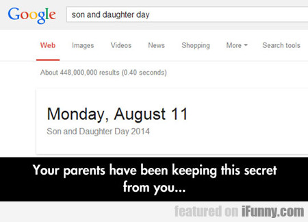 your parents have been keeping this secret...