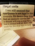 Illegal Smile: I Am Still Amazed That Marijuana...