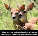 When You Are Walking In Public