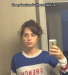 Zooey Deschanel Without Make Up...