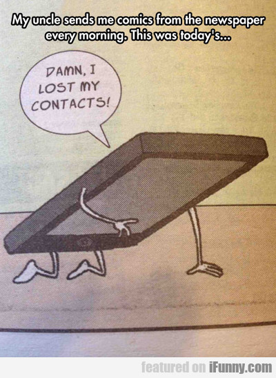 My Uncle Sends Me Comics...