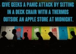 Give Geeks A Panic Attack By Sitting In A Deck
