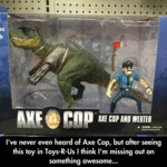 I've Never Heard Of Axe Cop...