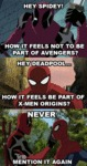 Hey Spidey! How It Feels...