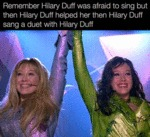 Remember Hilary Duff Was Afraid...