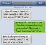 U Should Have A Bowl Of Patience