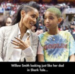 Willow Smith Looking Just Like Her Dad In Shark...