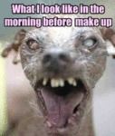 What I Look Like In The Morning Before Make Up