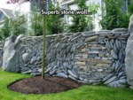 Superb Stone Wall...
