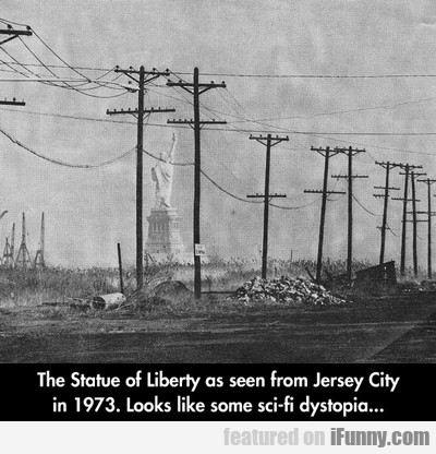 The Statue Of Liberty As Seen From...