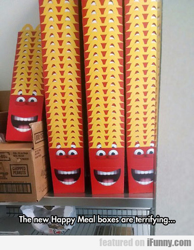 The New Happy Meal Boxes Are Terrifying...