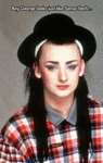 Boy George Looks Just Like Sansa Stark...