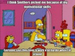 I Think Smithers Picked Me Because...