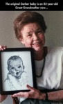 The Original Gerber Baby...