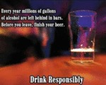 Every Year Millions Of Gallons Of Alcohol...