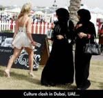 Culture Clash In Dubai...