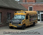 Mrs. Frizzle Took The Kids To The...