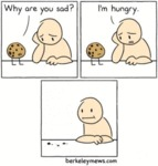 Why Are You Sad? I'm Hungry...