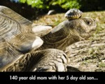 140 Year Old Mum With Her 5 Day Old Child...