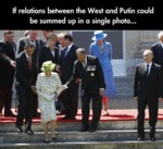 If Relations Between The West And Putin...