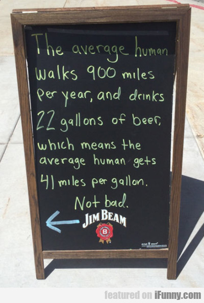 The Average Human Walks 900 Miles Per Year And..