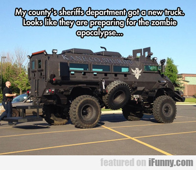 My County's Sheriff Department...