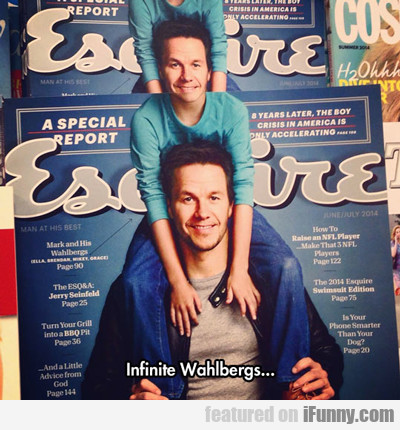 Infinite Mark Wahlbergs...