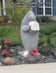 My Sister Has A Neighbor With A Manatee Mailbox...