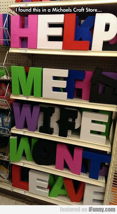 I Found This In A Michaels Craft Store...