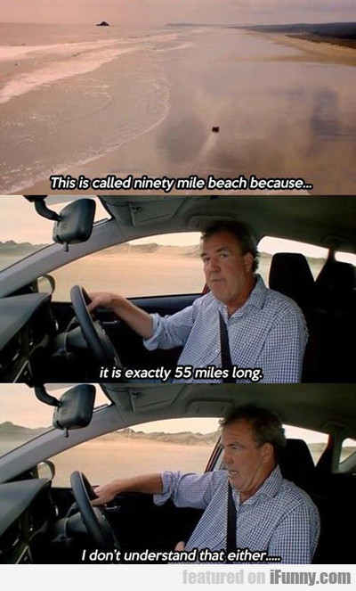 This Is Called Ninety Mile Beach...