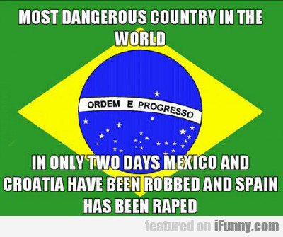 most dangerous country in the world...