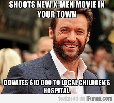 Shoots New X-men Movie In Your Town...